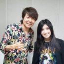 夢叶う!英会話の可愛い教え子シンガーソングライター鬼束ちひろと生放送で共演!